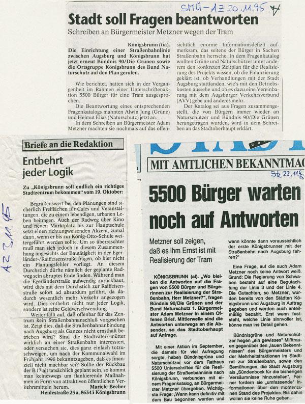 SMÜ und STZ, November 1995